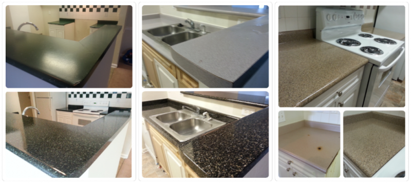Sterling Glenn Apartments Countertop Resurface