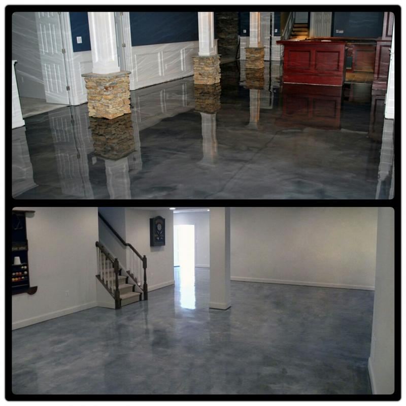 Shimmer Epoxy Floor Resurfacing